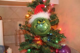 The Grinch inspired Tree Ornament, 4