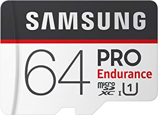 Samsung PRO Endurance 64GB Micro SDXC Card with Adapter - 100MB/s U1 (MB-MJ64GA/AM) (Renewed)