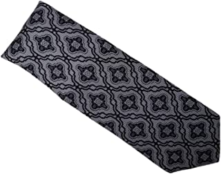 Michelsons of London Men's Black Paisley Tie