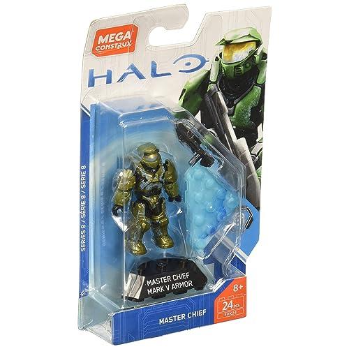 Halo Mega Bloks Spartan Tribute Mark V Master Chief