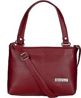 Fristo Women's Kaira Handbag & Sling Bag(FRBN-009)(Maroon)