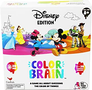 Disney Colorbrain, The Ultimate Board Game for Families who Love Disney