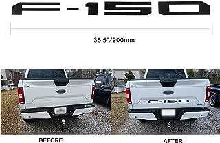 3D Emblem for Ford F150 2018-2019 Tailgate Insert Letters (Matte Black)