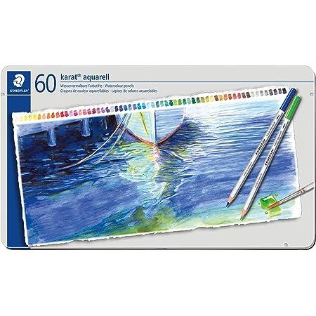 ステッドラー 色鉛筆 60色 水彩色鉛筆 カラトアクェレル 125 M60