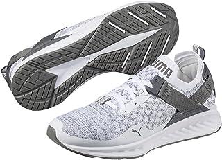 PUMA Men's Ignite Evoknit Lo, Black- White-Toreador, Running Shoes