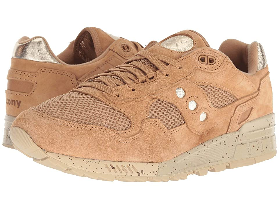 Saucony Originals Shadow 5000 Gold Rush (Tan/Gold) Men