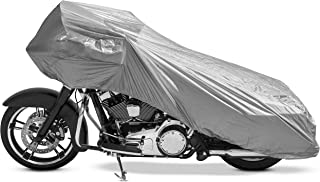CoverMax Half Motorcycle Cover - X-Large/Silver