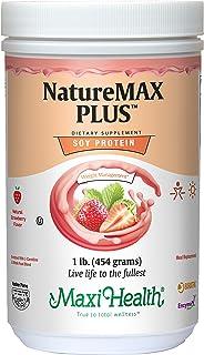 NatureMax Plus Soy Protein Strawberry