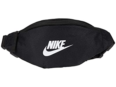 Nike Heritage Small Fanny Pack (Black/Black/White) Bags