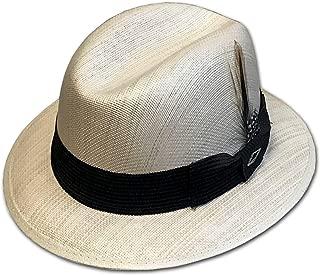 Khaki Tan Pachuco Lowrider Fedora Style Brim Hat