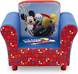 Delta Children Upholstered Chair, Disney Mickey Mouse