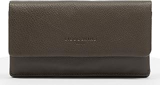 Liebeskind Berlin Basic SLG-Slam Wallet Large, Accesorio de Viaje-Billetera para Mujer, Gris, N