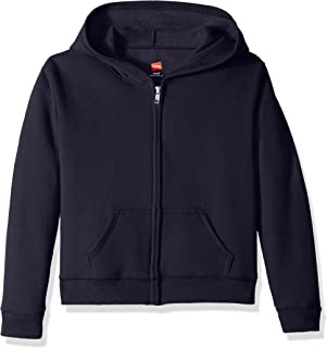 Big Girls' ComfortSoft Ecosmart Full-Zip Fleece Hoodie