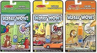 Best Melissa & Doug Vehicles Animals & Safari Water Wow On-The-Go Bundle Review