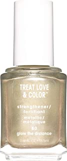 essie Metallics nail polish & strengthener