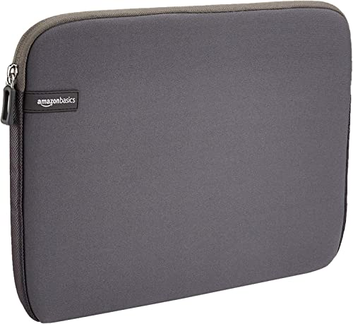 AmazonBasics 13.3-inch Laptop Sleeve  - Internal Dimensions - 12.1 X 0.7 X 9.3 Inches - Grey product image