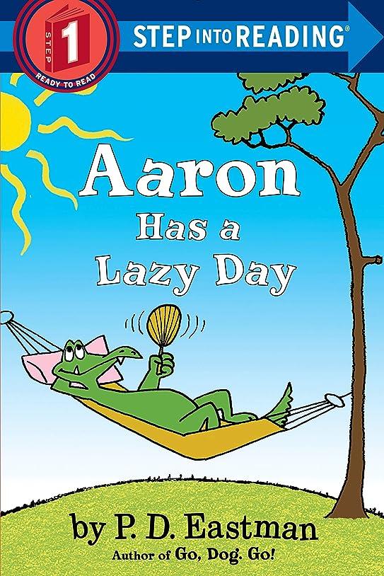 抽出思春期画家Aaron Has a Lazy Day (Step into Reading) (English Edition)