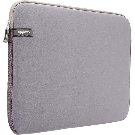 """Amazon Basics NC1303154H - Funda para ordenadores portátiles (15.6""""), color gris"""