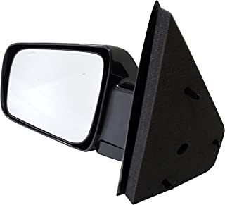Dorman 955-341 Driver Side Manual Door Mirror - Folding for Select Chevrolet / GMC Models, Black