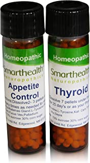 Appetite Control+Thyroid Formula. Oral Homeopathic Pills.