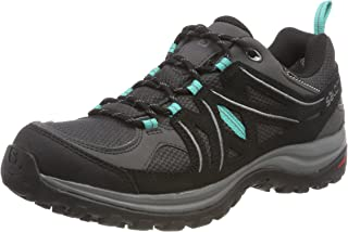 Salomon Women's Ellipse 2 Gore-Tex Trekking & Hiking Shoes, Magnet/Black/Atlantis, 8.5 US