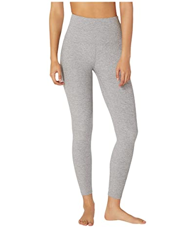 Beyond Yoga Spacedye High Waisted Midi Leggings (Silver Mist) Women
