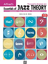Alfred's Essentials of Jazz Theory, Teacher's Answer Key: Book & 3 CDs