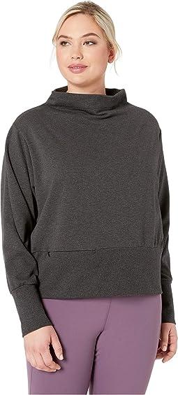 Dry Gym Fleece Mock (Sizes 1X-3X)