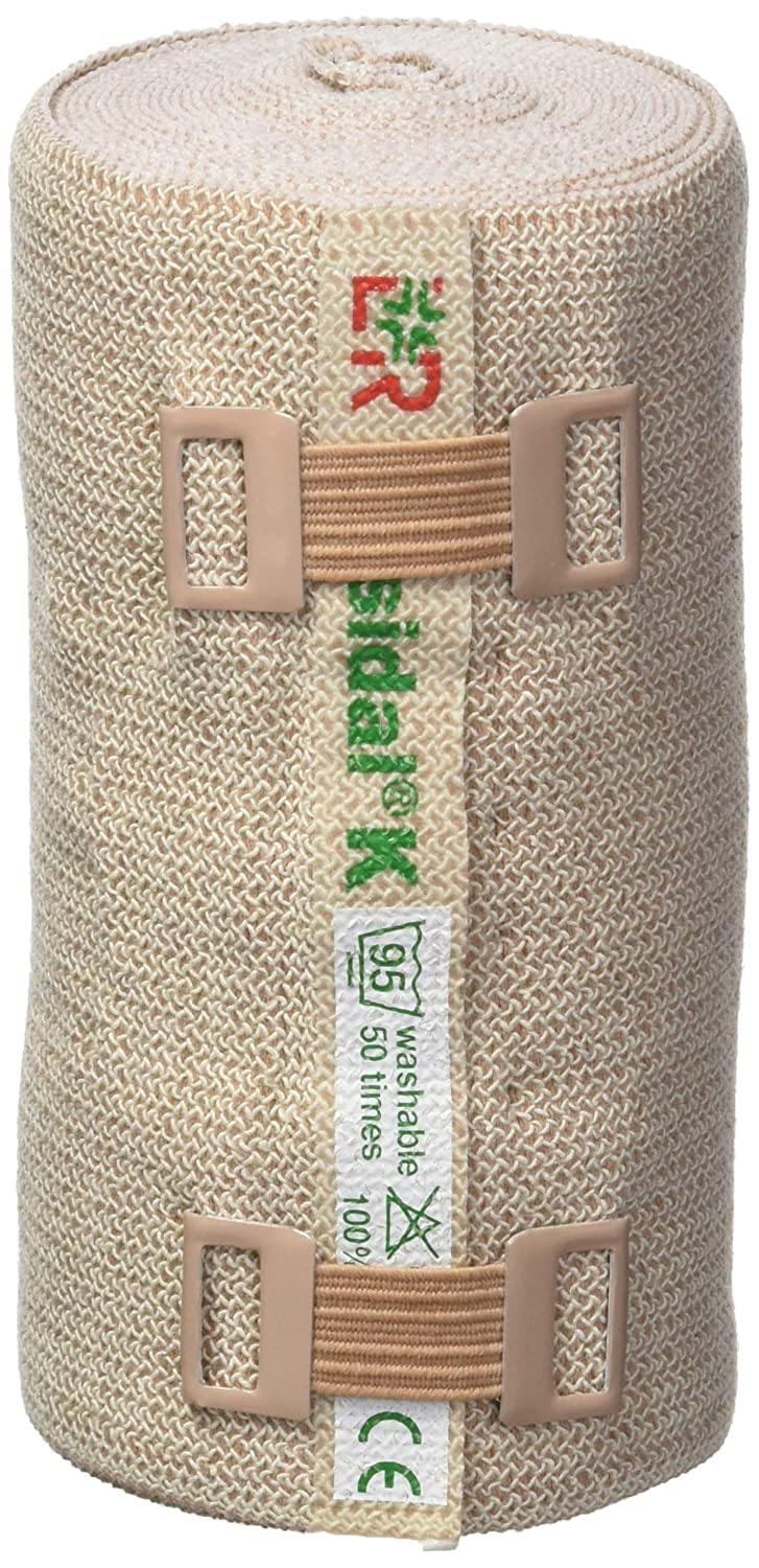 """Lohmann & Rauscher-77358 Rosidal K Short Stretch Compression Bandage, For Use In The Management of Acute & Chronic Lymphedema, Edema, & Venous Insufficiency, 3.93"""" x 5.5 Yards (10cm x 5m), 1 Roll: Industrial & Scientific"""