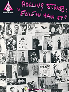Rolling Stones - Exile on Main Street - Guitar Recorded Version - Book - TAB