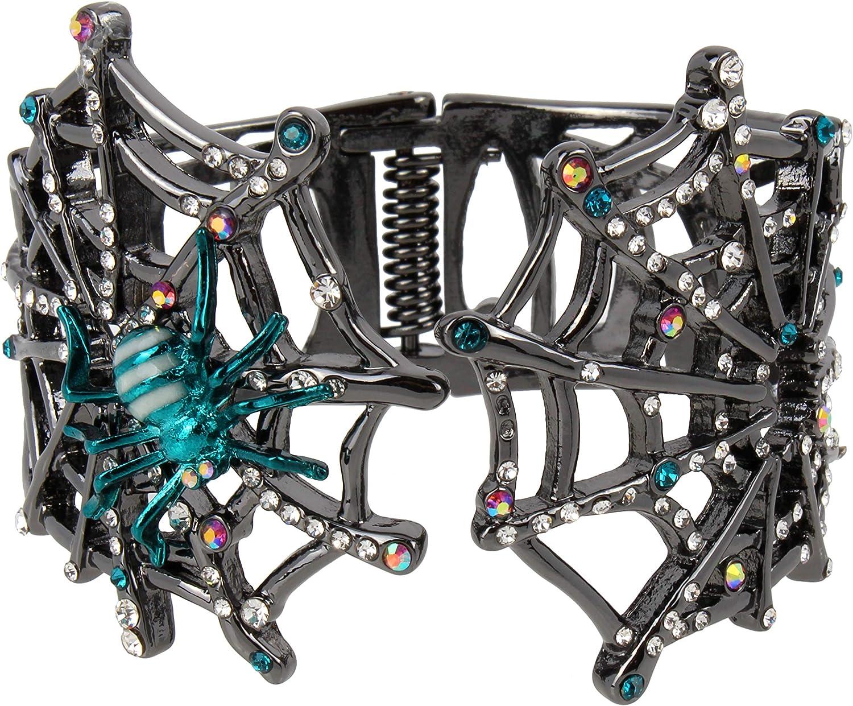 Betsey Johnson Spider Web Cuff Bracelet