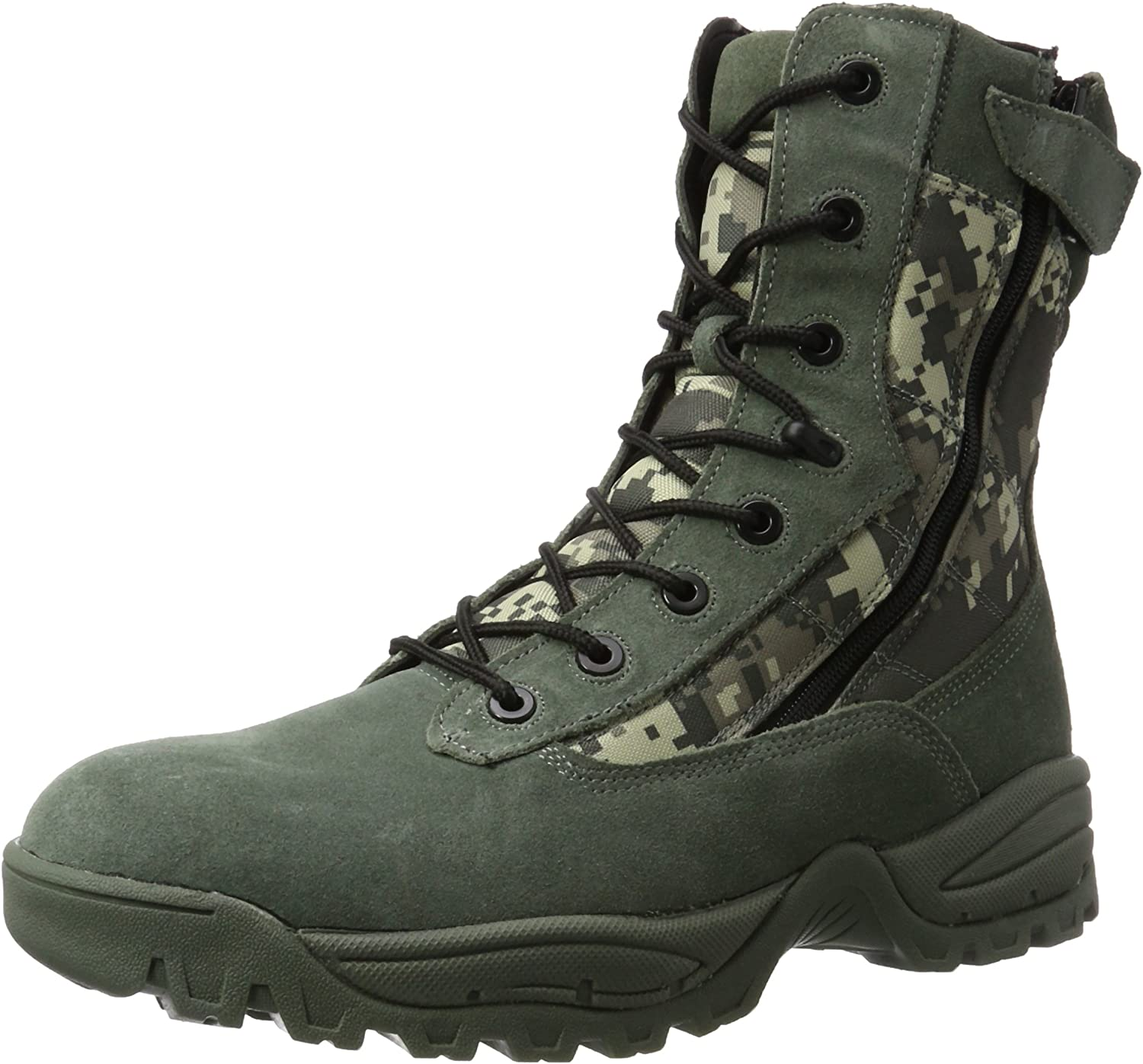 57303a20cd0 Mil-Tec Digital Camo Tactical Army Boots - 2 Zips nappox4425-New ...