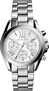 Michael Kors Watches Mini Bradshaw Chronograph Stainless Steel Watch - MK6174