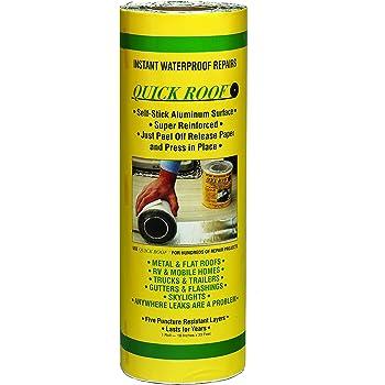 Amazon Com Cofair Qr18 Quick Roof Pro Aluminum Waterproof Repair Tape 18 X 33 5 Automotive