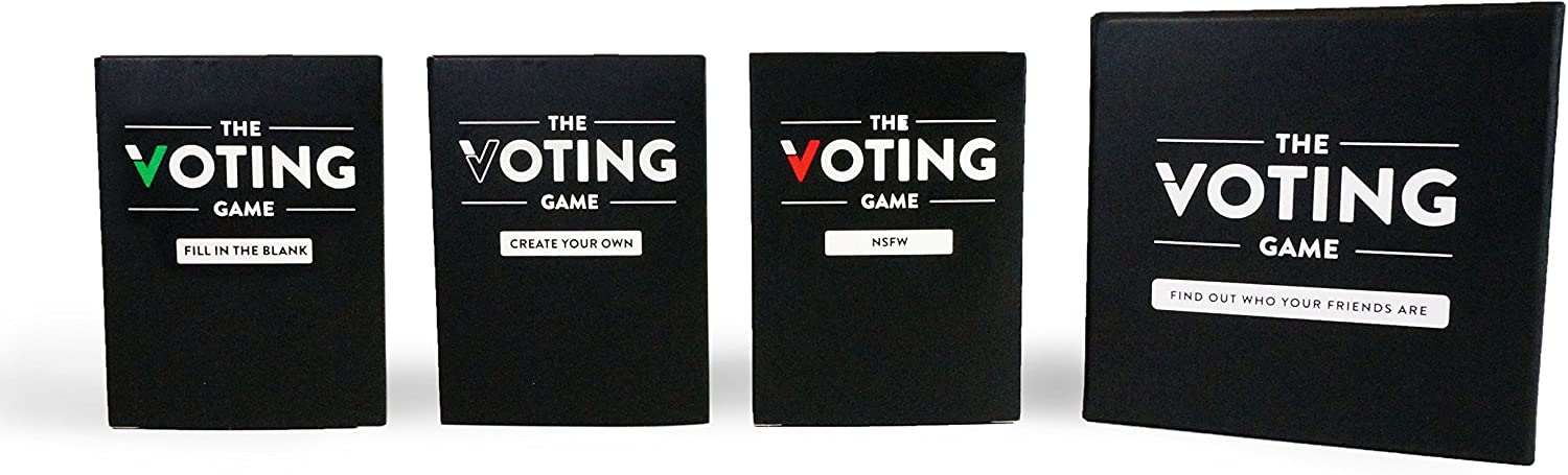 The Voting Game - The Adult Party Game About Your Friends (The Complete Set)