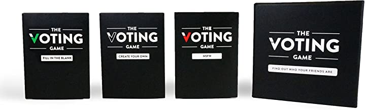 The Voting Game: The Adult Party Game About Your Friends (The Complete Card Game Set)