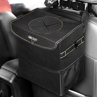 باطری ماشین BOLTLINK می تواند با آستین، کیسه های زباله های اتوماتیک برای صندلی عقب با 3 کیسه ذخیره سازی، سازگار با لوازم جانبی قابل حمل اتومبیل برای زنان، 100٪ پوشش ناپذیر وینیل در داخل پوشش