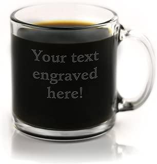 custom etched coffee mugs