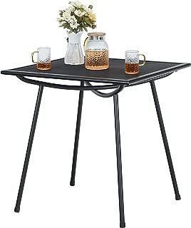 Best square metal mesh patio table Reviews