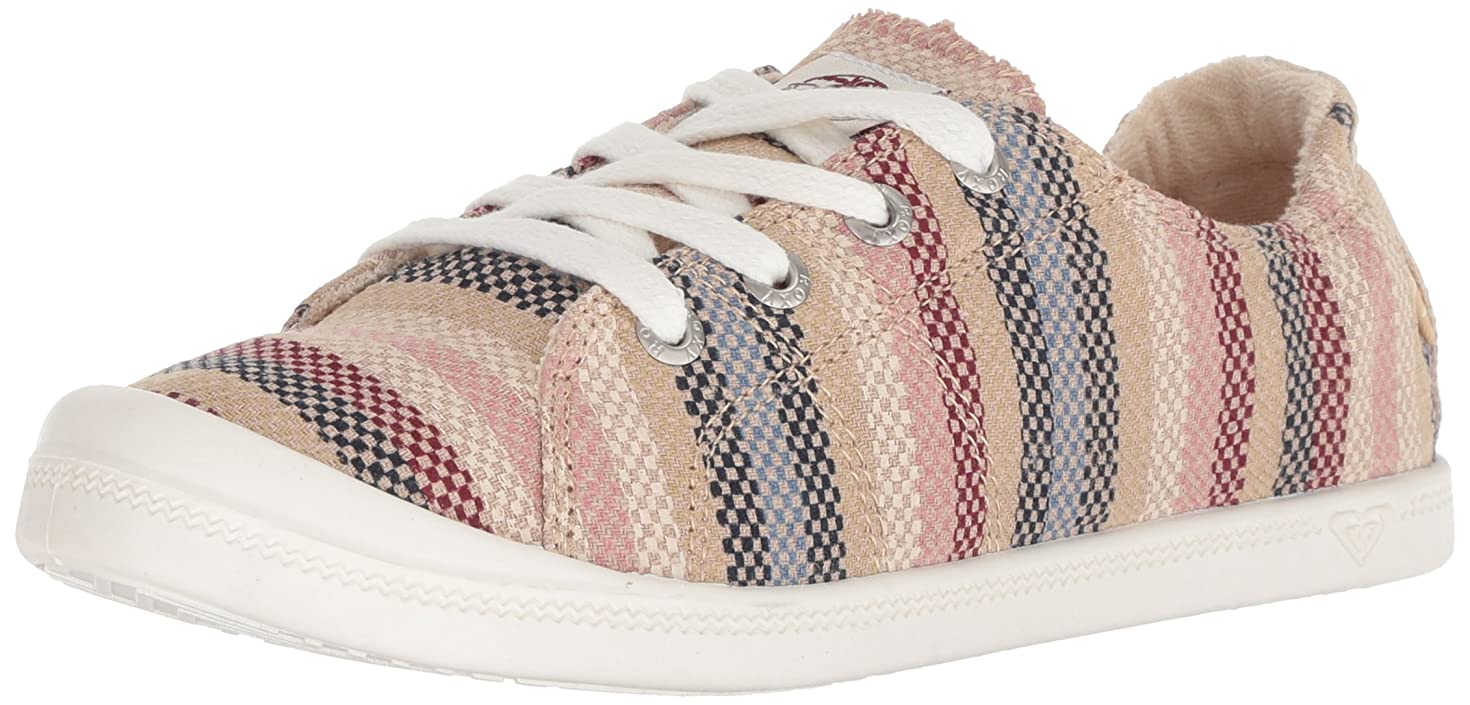 びっくり訪問チャネル[Roxy] レディース Bayshore Slip on Shoe Fashion Sneaker