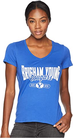 BYU Cougars University V-Neck Tee