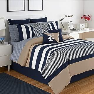 IZOD Comforter Set, King, Classic Stripe