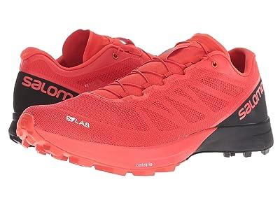 Salomon S/Lab Sense 7 SG (Racing Red/Black/White) Athletic Shoes
