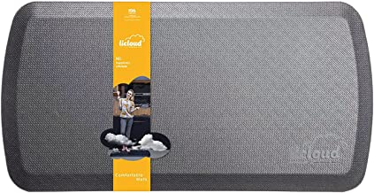 """Anti Fatigue Comfort Floor Mat by Licloud -20""""x32""""x3/4"""" Professional Grade Quality Perfect for Standing Desks, Kitchens, a..."""