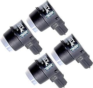 APDTY 15239247x4 PDC Sensor Park Assist Reverse Backup Object Sensor Pack Of 4 Fits Rear Bumper On Select 2006-2016 GM Vehicles (Replaces 15945176, 25962147; View Description For Specific Models)