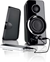 BlackWeb 3.5 mm aux imput MULTI-MEDIA PC SPEAKERS MP3 input Bass Power