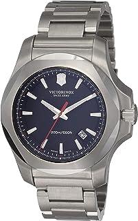 Victorinox - Swiss Army 241723.1 – Reloj de Pulsera de Hombre I.N.O.X, analógico, de Cuarzo y Acero Inoxidable