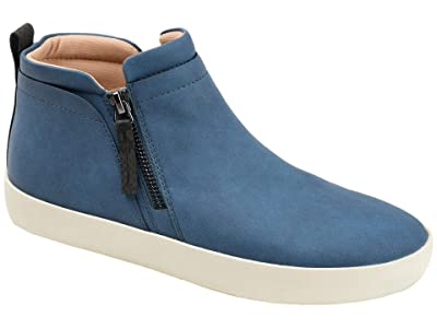 Journee Collection Comfort Foamtm Frankie Sneakers (Blue) Women