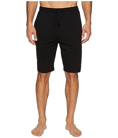 Polo Ralph Lauren Supreme Comfort Knit Sleep Shorts (Polo Black) Men