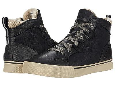 SOREL Cariboutm Storm Sneaker Mid Waterproof (Black) Men